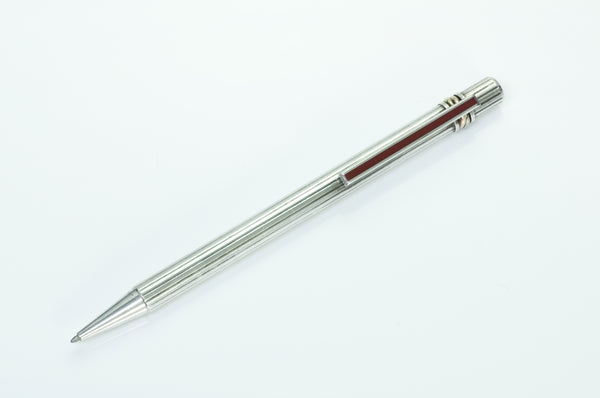 Cartier Santos Sterling Silver 18K Gold Pen