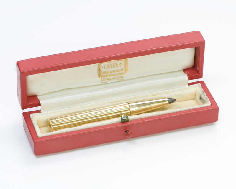 Cartier London Gold Pencil