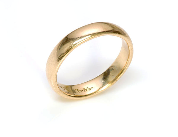 Cartier 18K Yellow Gold Band Ring