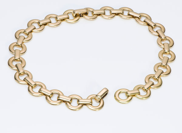 Cartier George L'Enfant 18K Gold Bracelets Necklace