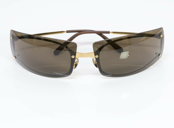 Cartier Paris Gold Plated Men's Sunglasses