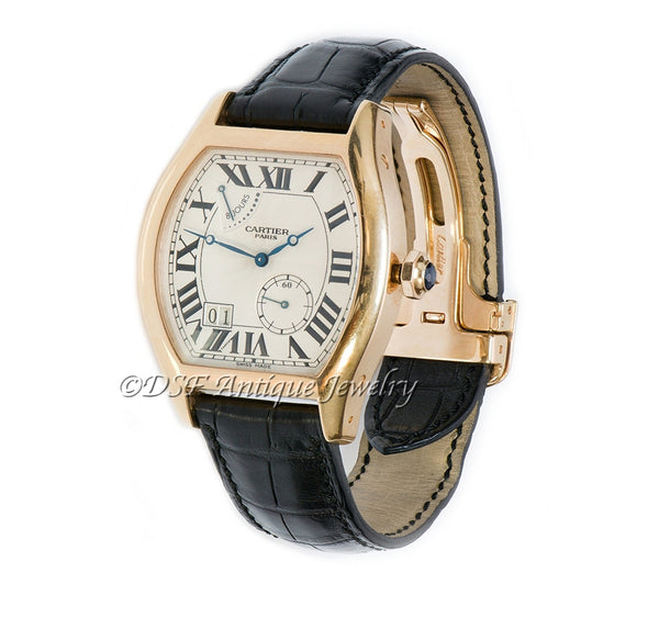 Cartier Tortue Gold Watch