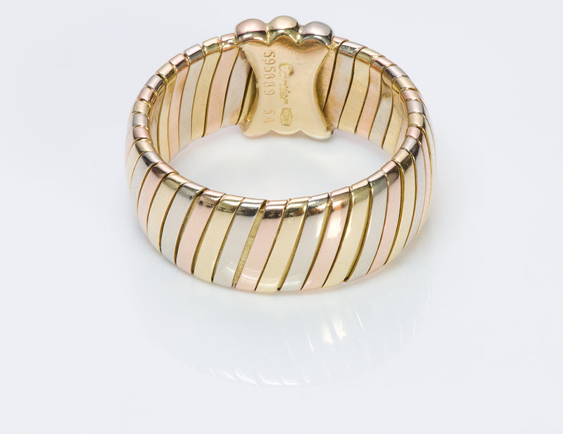 Cartier Tubogas 18K Gold Ring