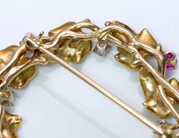 Cartier Gold Brooch