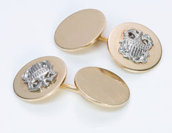 Cartier Gold & Platinum Cufflinks