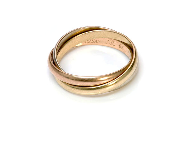 Cartier Trinity 18K Gold Ring Band