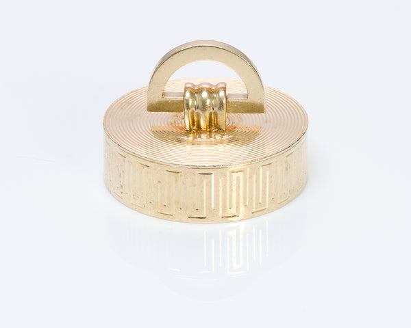 Cartier Gold Round Pill Box
