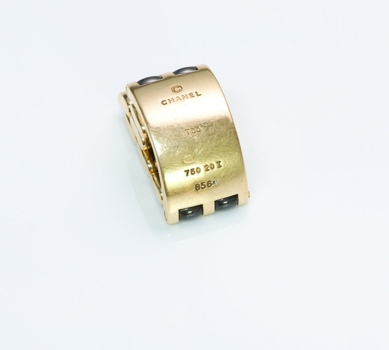 Chanel Ultra Gold Ceramic Ring