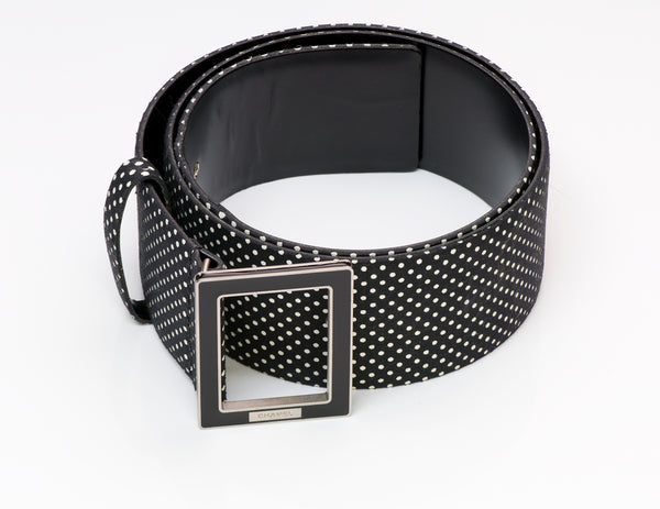 Chanel Polka Dot Wide Belt