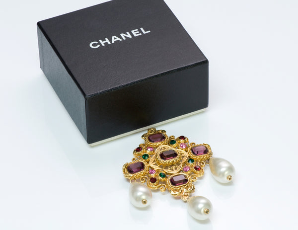 Chanel Byzantine Brooch