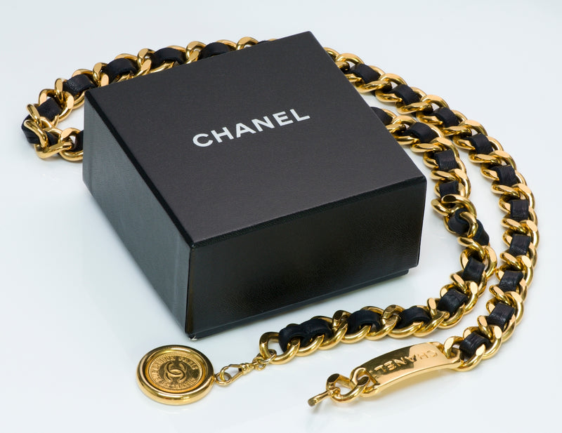 Chanel Chain Leather Belt