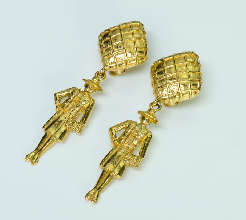 Chanel Coco Mademoiselle CC Earrings