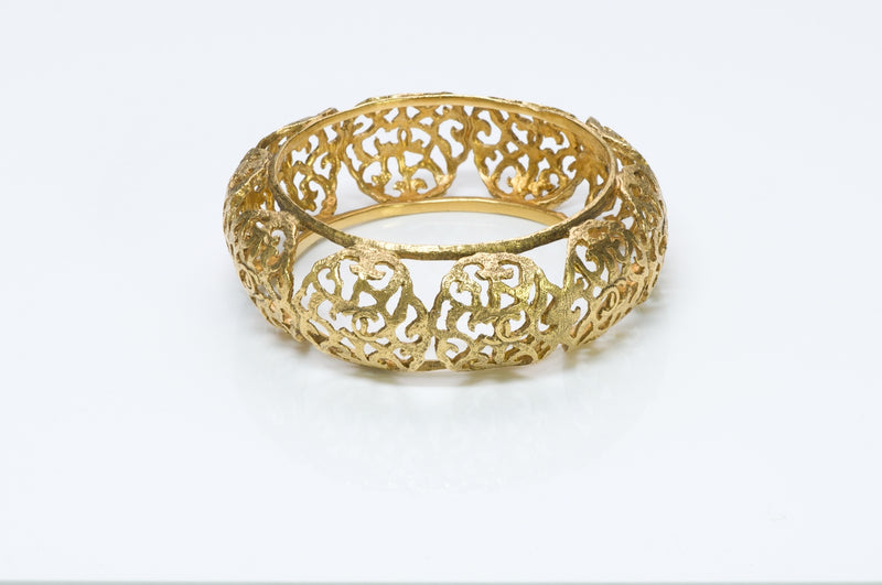 Chanel Filigree Bangle