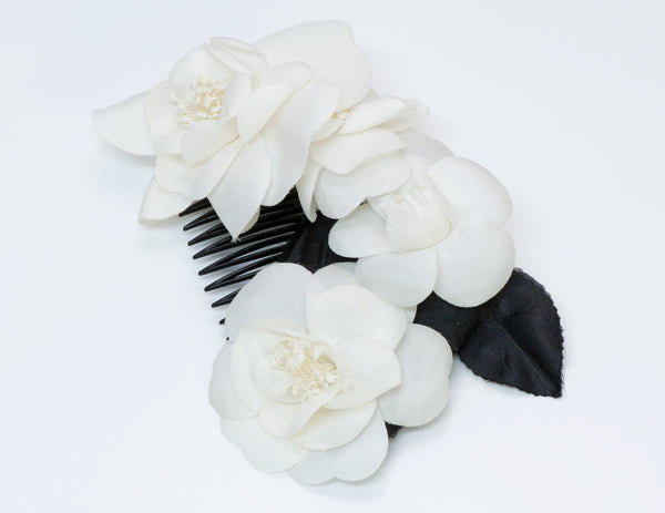 Chanel Flower Comb