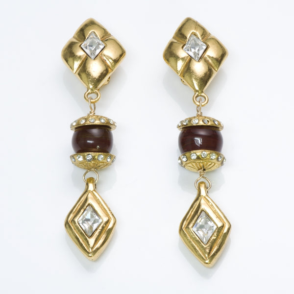 CHANEL Gripoix Earrings