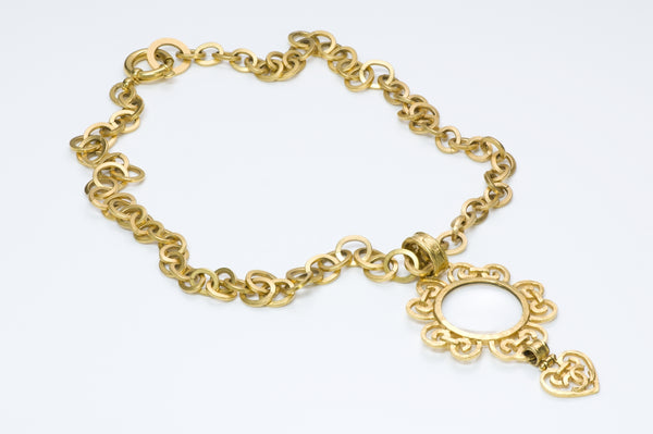Chanel Magnifying Glass Necklace