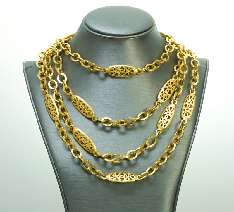 Chanel Infinity Chain Necklace
