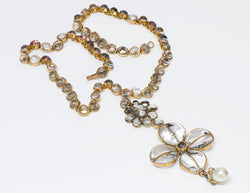 Chanel Couture Maison Gripoix Pearl Necklace