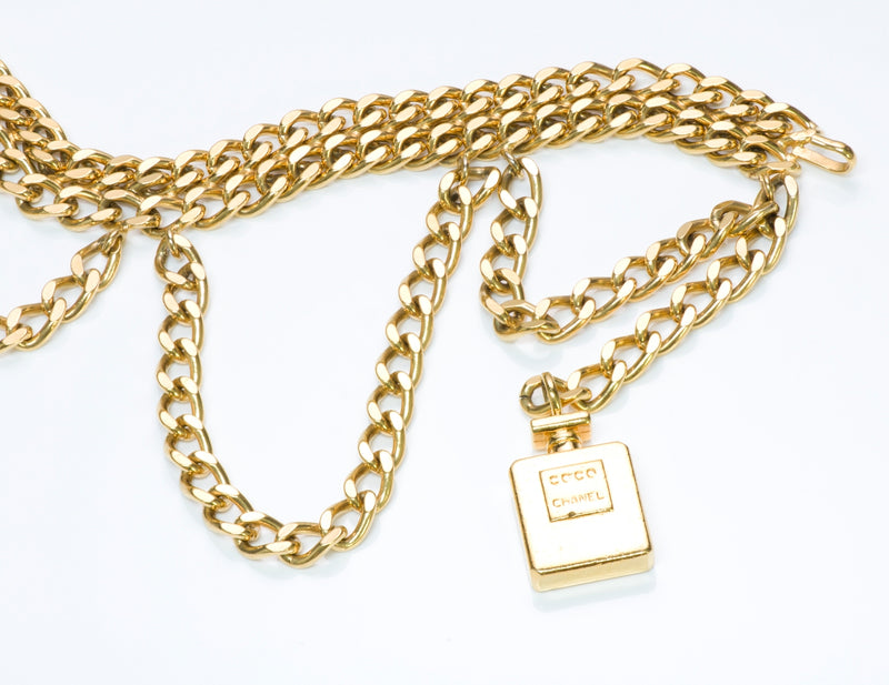 Chanel Bottle Charm Chain Belt