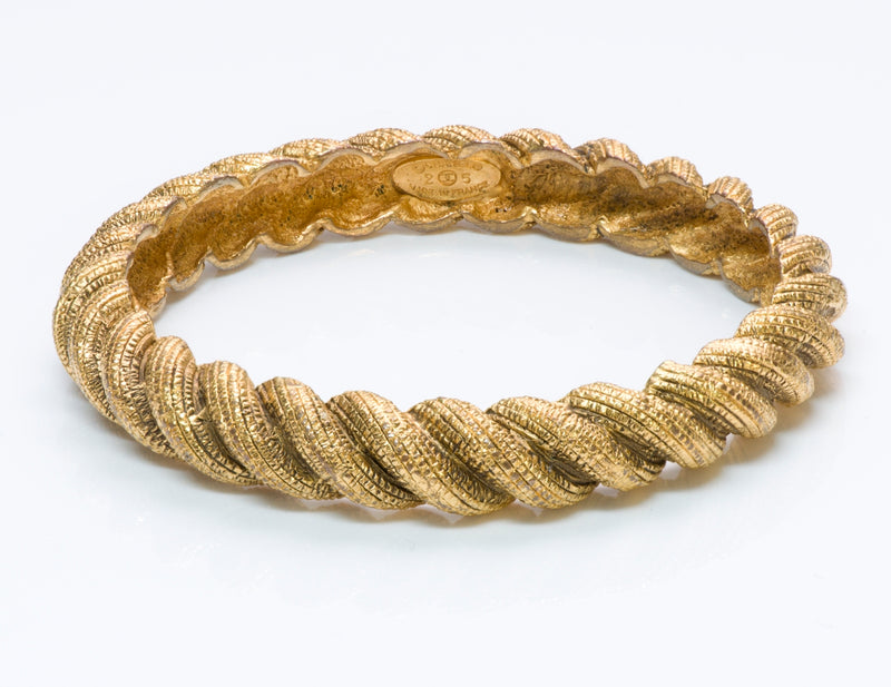 Chanel Twist Bangle Bracelet