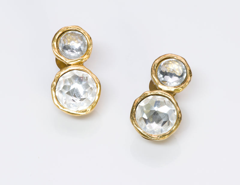 Chanel Byzantine Style Crystal Earrings