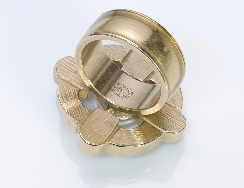 Chanel Cocktail Ring