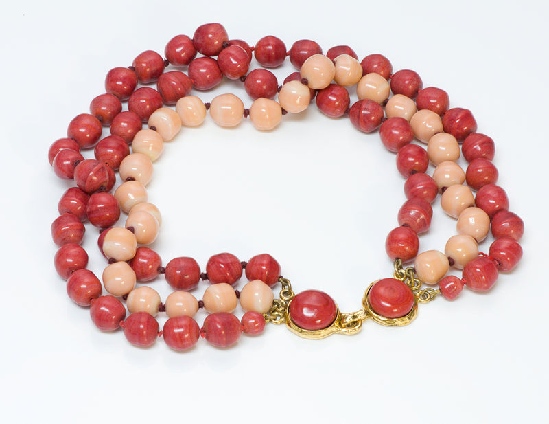Chanel Gripoix Glass Bead Necklace