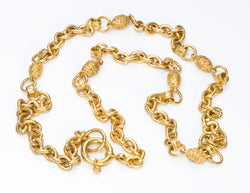 Chanel CC Byzantine Style Chain Necklace 2004