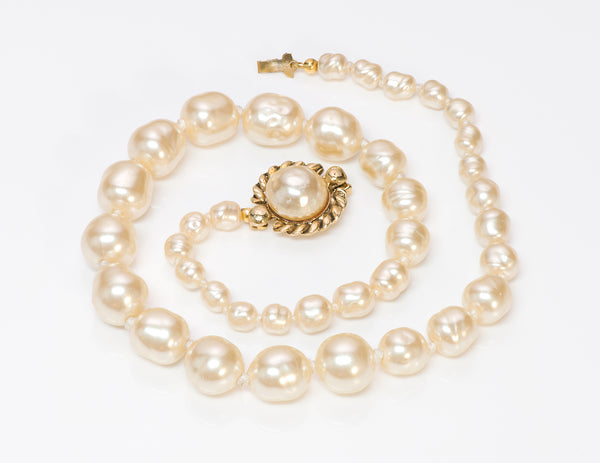 Chanel 1981 Pearl Strand Necklace