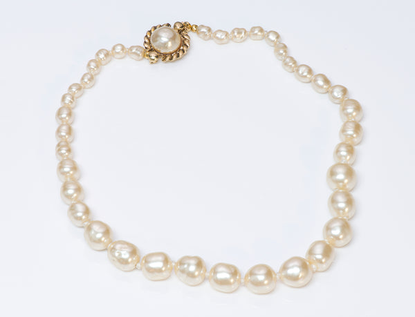 Vintage Chanel 1981 Pearl Strand Necklace