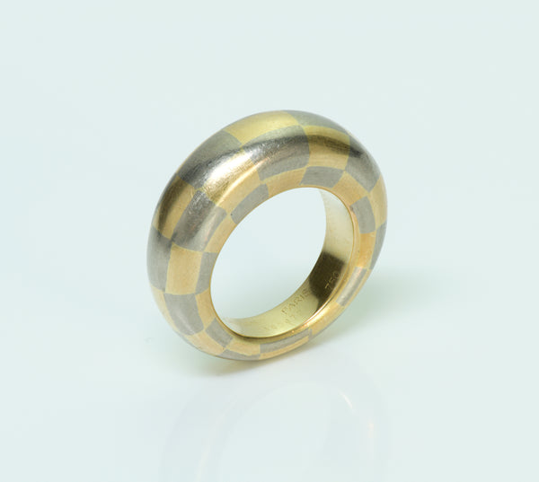 Chaumet Yellow & White Gold Ring