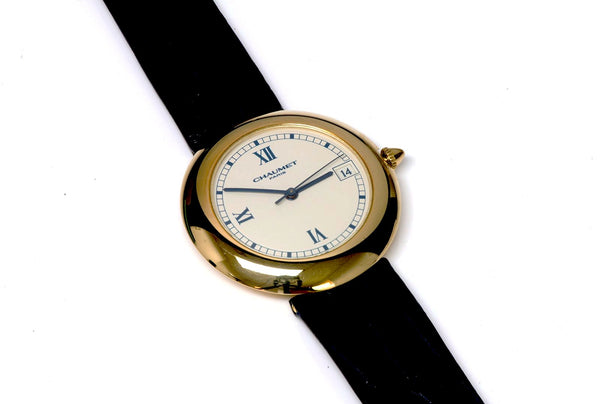 Chaumet Paris 13A-684 18K Gold Automatic Watch