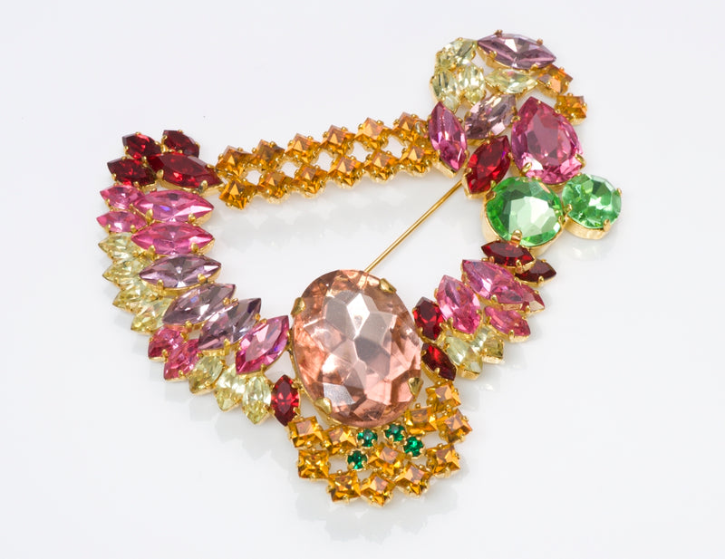 Christian Dior Crystal Brooch