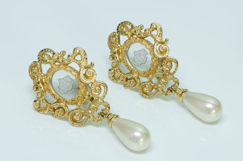 Christian Dior Boutique Victorian Earrings