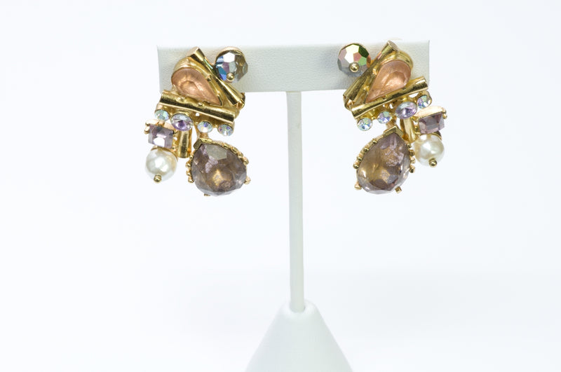Christian Lacroix Crystal Earrings