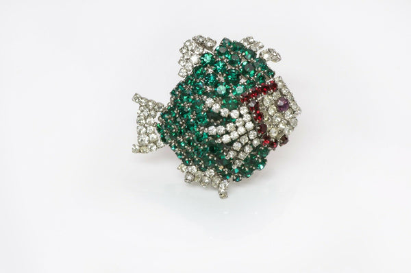 Christian Dior Henkel and Grosse 1961 Fish Brooch