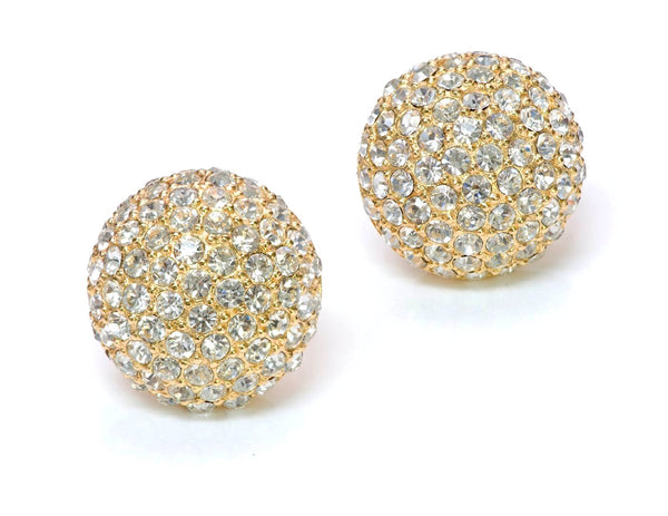 Christian Dior Crystal Earrings