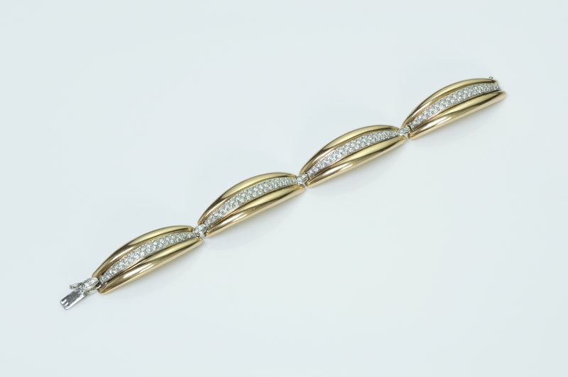 Damiani 18K Gold Diamond Bracelet