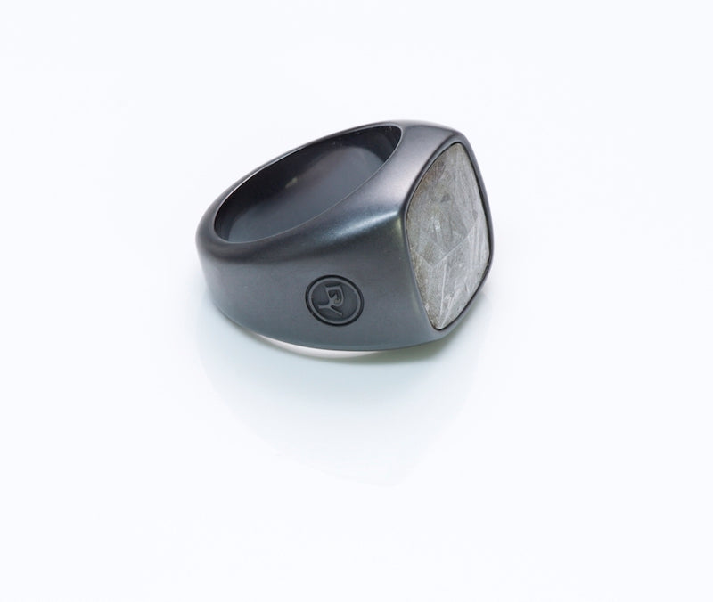 David Yurman Meteorite Black Titanium Men's Ring