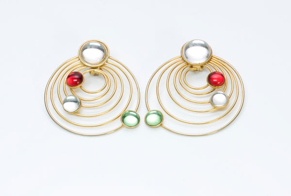Debra Fine Yohai Crystal Earrings