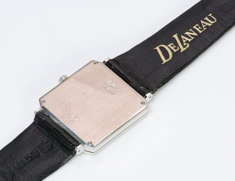 DeLaneau Opal 18K Gold Diamond Watch5