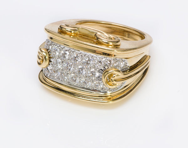 Diamond Gold Vintage Ring