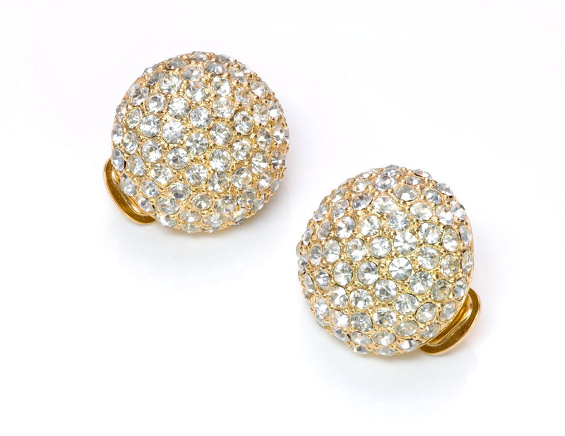 Christian Dior Crystal Earrings 2