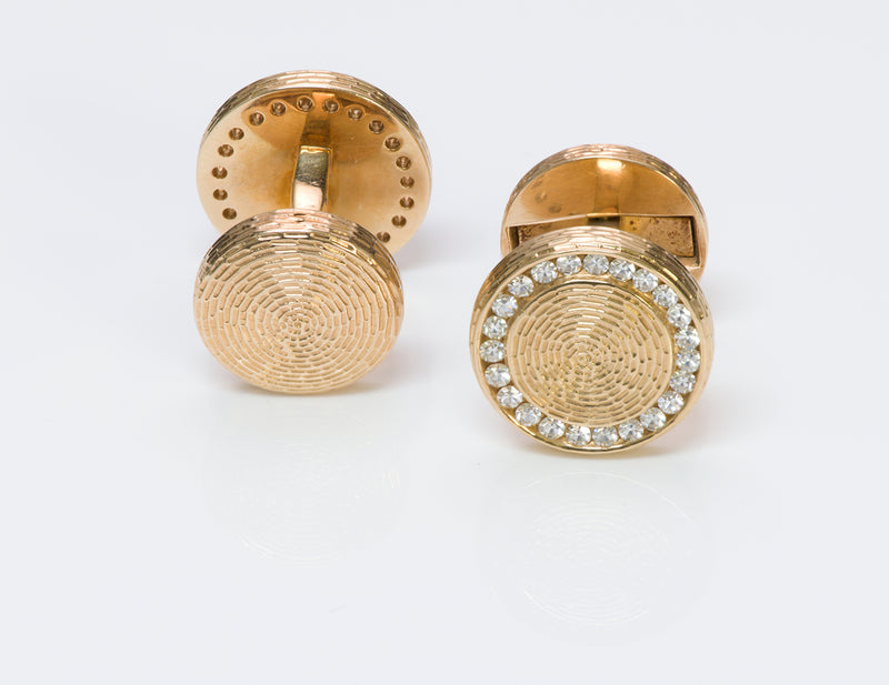 Tiffany & Co. Diamond Vintage Cufflinks