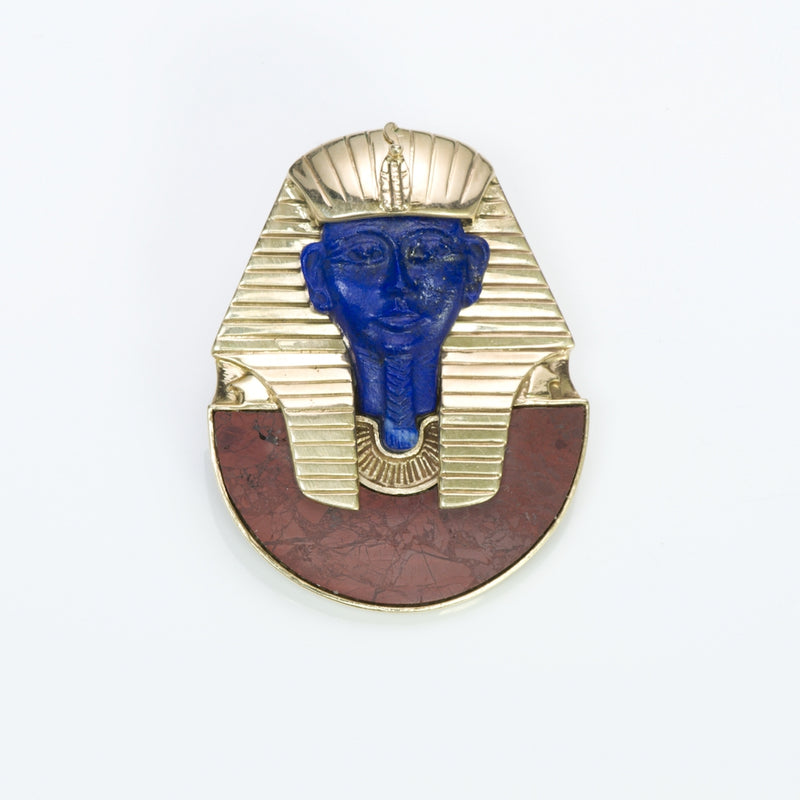 Egyptian Revival Gold Pendant