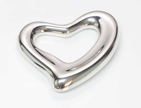 Tiffany & Co. Elsa Peretti Open Heart Belt Buckle