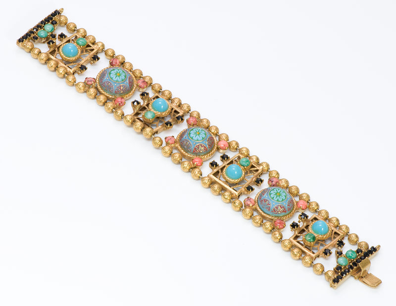 Juliana Delizza Elster Marrocan Matrix Enamel Bracelet 2