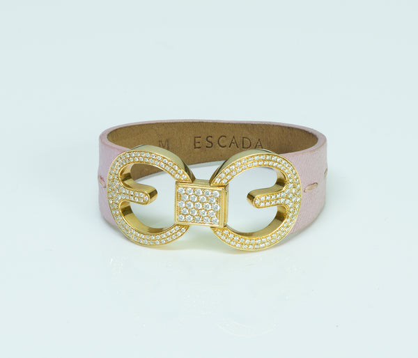 Escada Eluna Gold Diamond Bracelet