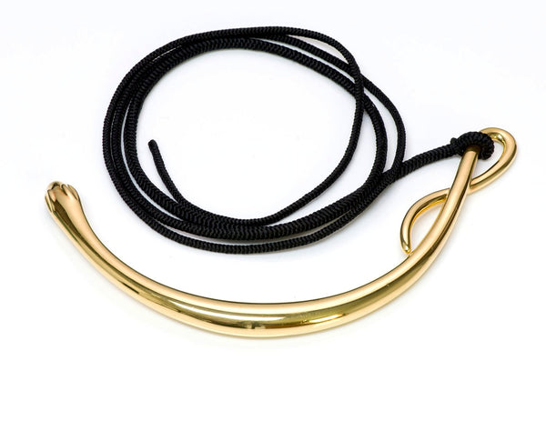 Tiffany & Co. Elsa Peretti Gold Snake Necklace