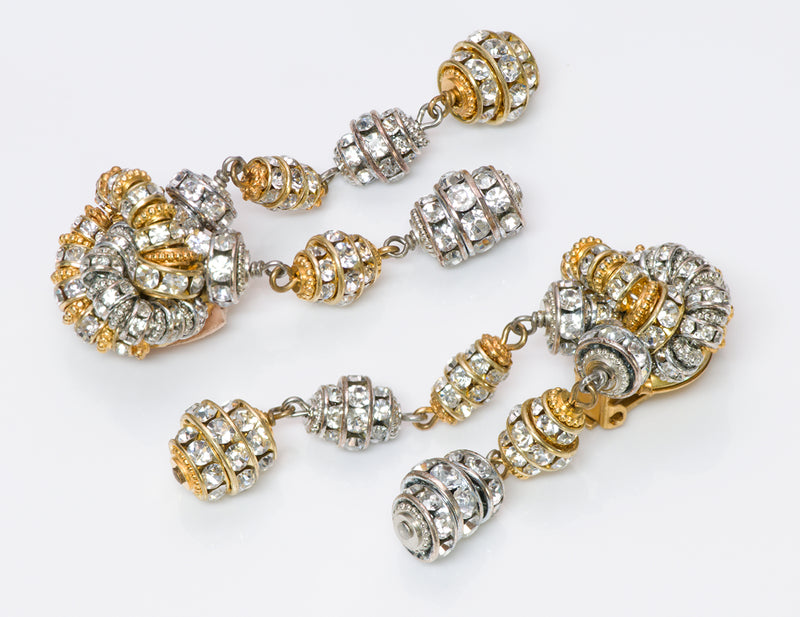 Francoise Montague Crystal Earrings